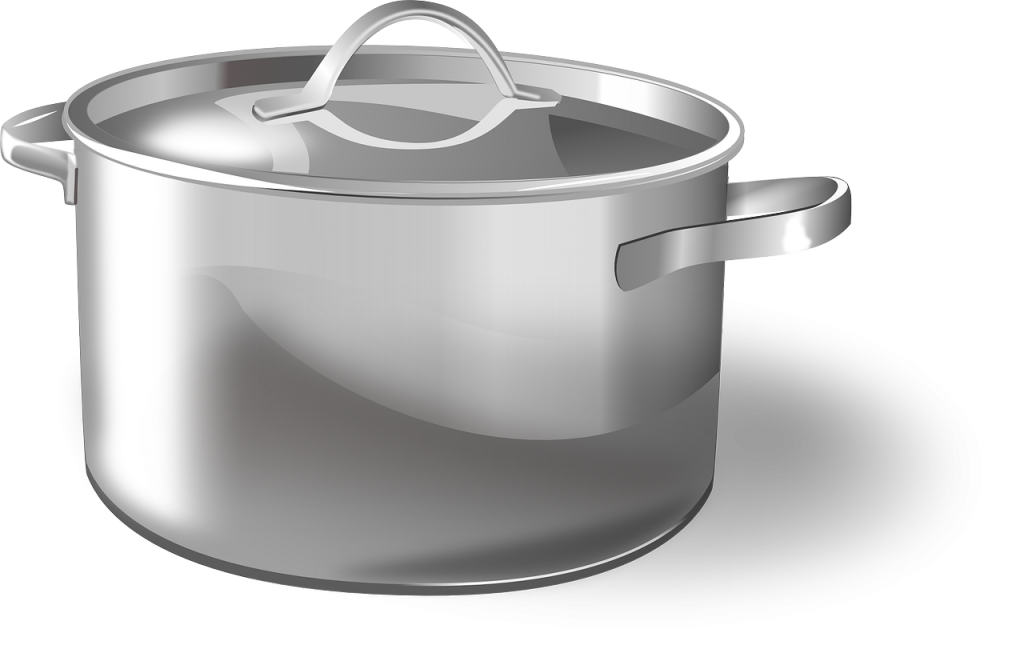 Cooking Sauce pot - presented to cook secret sauce to success in this blog